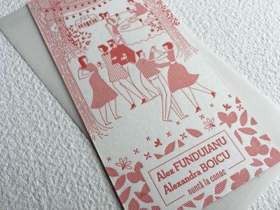 Invitatii Nunta - Ink Paper Art - Alex & Alexandra - 1100px - 20