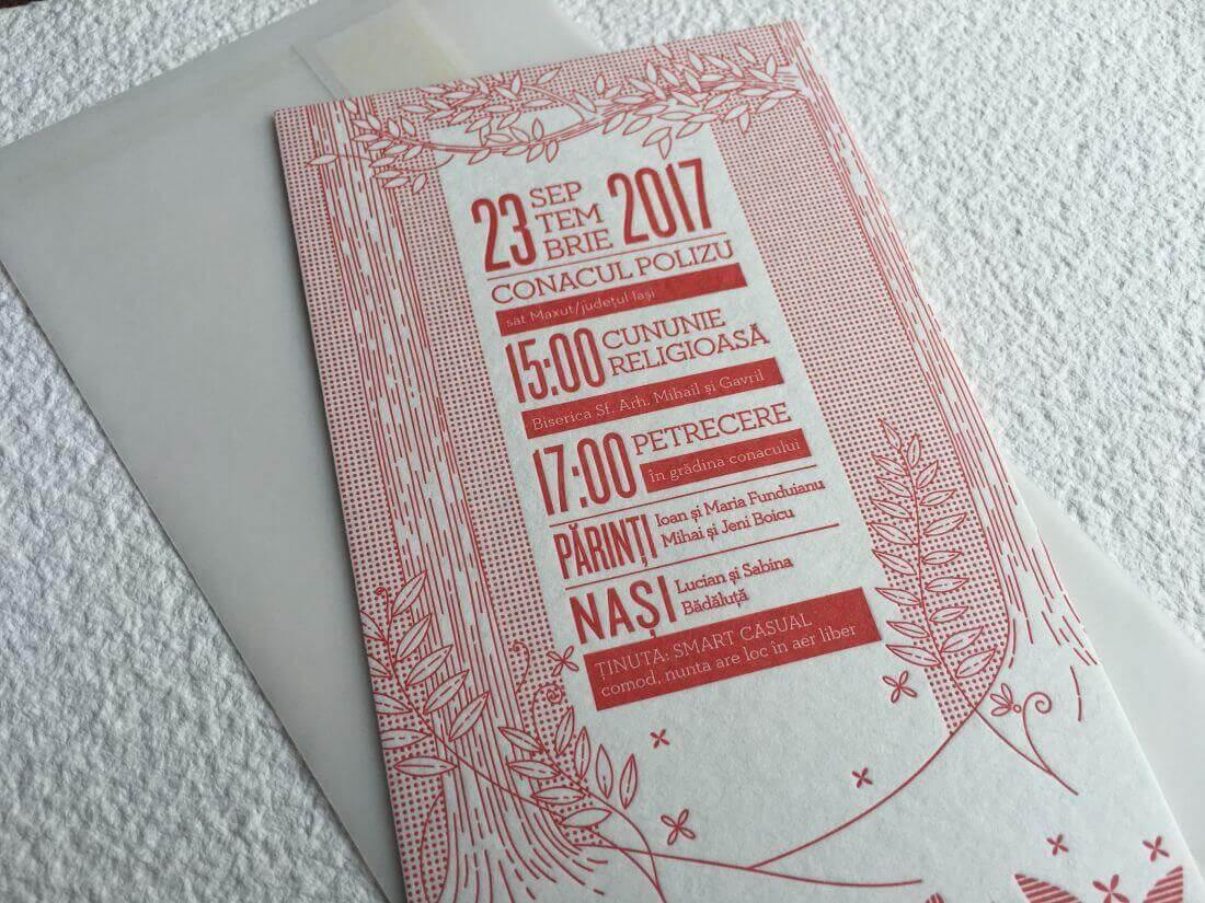 Invitatii Nunta - Ink Paper Art - Alex & Alexandra - 1100px - 22