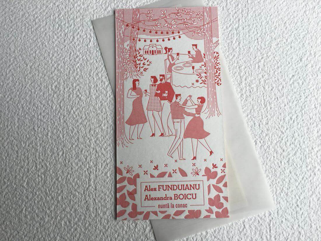 Invitatii Nunta - Ink Paper Art - Alex & Alexandra - 1100px - 26