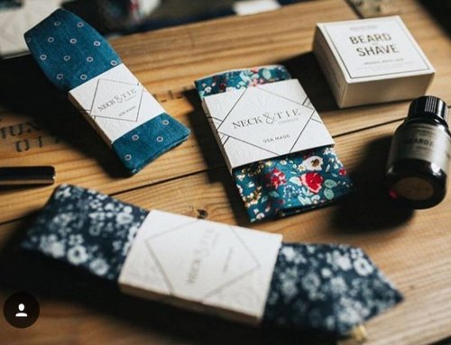 Letterpress Sleeves/ Tags Neck & Tie
